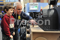 Explaining Steam (MichaelPreston_Creative19) Tags: 3d adults background builds built childhoods constructions constructs creative designs details engineering engineers enthusiasts exhibitions fun hobbies hobby homemade image kits leisure little machines made males man mechanical mechanisms men metal miniatures modelengineeringexhibition modelling models motors objects people persons photo photograph pic picture plastics projects replicas scale scalemodels small structures technology toys vehicles london
