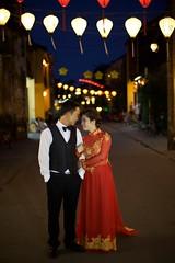Wedding Photo (Tom Taylor (Windsor)) Tags: couple hoian night staged vietnam wedding