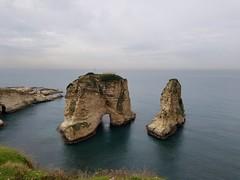 Raouche Rocks (Levana Una Laitman) Tags: beirut lebanon sea