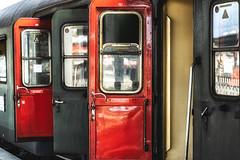 Door Colors (*Capture the Moment*) Tags: 2019 dampflok december dezember fotowalk munich münchen nikolauszug sonya7m2 sonya7mii sonya7mark2 sonya7ii sonyilce7m2 steamengine steamtrain train