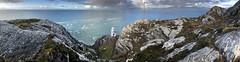 Sheep's Head, Cork (iPhone pano stitch) (Sean Hartwell Photography) Tags: sheepshead cork countycork sea light lighthouse rocks atlantic ocean wildatlanticway iphone panorama