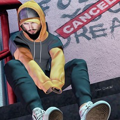 #276 (Fraegy) Tags: volkstone ckeyposes lob narcissusstore mancave poses secondlife men fashion sl events mesh
