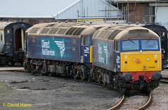 Eastleigh Works  57003 + 57002 (davidhann34016) Tags: 57003 57002 eastleigh works drs