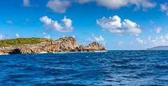 Guadeloupe - Pointe des Chateaux (François Leroy) Tags: françoisleroy france antilles guadeloupe stfrançois pointedeschateaux rocher mer océan ciel eau croix desirade