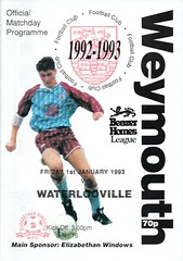 Weymouth v Waterlooville (Havant & Waterlooville) Tags: havant waterlooville weymouth southern league football programme