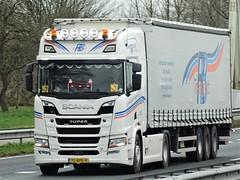 Scania R520 highline from RB transport Holland. (capelleaandenijssel) Tags: 72bpd9 truck trailer lorry camion lkw netherlands nl