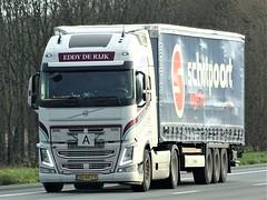 Volvo FH4 globetrotter from Eddy de Rijk Holland. (capelleaandenijssel) Tags: 80bkt9 truck trailer lorry camion lkw netherlands nl schotpoort eerbeek
