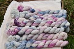 Eden Cottage Yarns Carlisle Fingering (Eden Cottage Yarns) Tags: edencottageyarns knitting crochet handdyed yarn wool 4ply carlislefingering