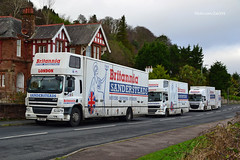 (Zak355) Tags: rothesay isleofbute bute scotland scottish britannia removals removalvan truck lorry daf movinghouse romovallorries