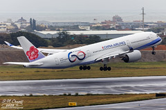 China Airlines [CI][CAL] / B-18917 / A350-941 / RCTP / 60th Anniversary (starger64) Tags: canoneos5dmarkiv ef1004004556lisii rctp tpe taoyuantaiwaninternational 台灣桃園國際機場 b18917 chinaairlines 中華航空 a350941 a350 a359 a350900 aviation aircraft airplane arlines airbus ci55 60thanniversary