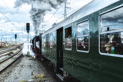 Leaving the Station (*Capture the Moment*) Tags: 2019 dampflok december dezember fotowalk munich münchen nikolauszug sonya7m2 sonya7mii sonya7mark2 sonya7ii sonyilce7m2 steamengine steamtrain train