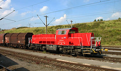 Northrail Gravita (Schwanzus_Longus) Tags: bremen steel mill german germany modern railroad railway diesel engine loco locomotive freight cargo train db deutsche bahn northrail voith gravita 10bb