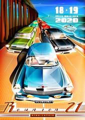 Our International GAZ-21/22/23 'Volga' Meet (Rawcar.com Photography) Tags: reunion reunion21 rawcar gaz gaz21 m21 volga wolga volha gaz22 gaz23 riga latvia classic car record