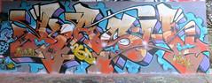 Graffiti in Amsterdam (wojofoto) Tags: amsterdam nederland netherland holland flevopark amsterdamsebrug hof halloffame graffiti streetart wojofoto wolfgangjosten kash