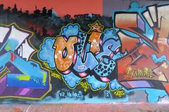 Graffiti in Amsterdam (wojofoto) Tags: amsterdam nederland netherland holland flevopark amsterdamsebrug hof halloffame graffiti streetart wojofoto wolfgangjosten olie