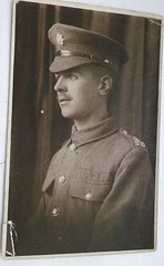 My father 1918 (helenoftheways) Tags: father family uniform 1918 uk