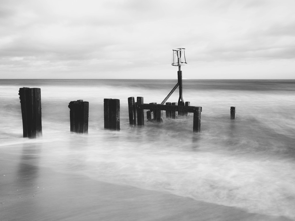 Gorleston beach defence