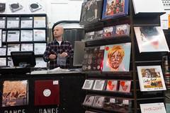 Salesman - Rough trade record shop (kevin Akerman) Tags: music records salesman london