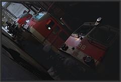 """Bygone Beauty ("""" Wiener Schule """") Tags: öbb oebb obb austria eisenbahn railway railroad 1042 1142"""