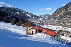 Bad Hofgastein (steffen_ffm_96) Tags: tauernbahn vectron öbb angertal eisenbahn