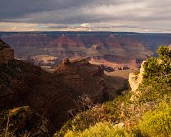 Grand Canyon National Park   |   Bright Angel Trail (JB_1984) Tags: grandcanyon canyon geologicalformation light shadow overlook rim trail trailhead brightangeltrail southrim arizona az unitedstates usa nikon d500 nikond500