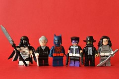 Spider-Bat Bonus List 2 (th_squirrel) Tags: lego dc marvel comics spiderbatvember moon knihgt michael lane azrael aunt may alfred pennyworth spiderman batman beyond 2099 huntress punisher jackal doctor death silver sable talia al ghul minifig minifigure minifigs minifigures