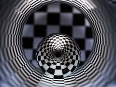 steel sphere (Antonio Iacobelli (Jacobson-2012)) Tags: mediumformat 120mm fujinon fujifilm bari chessboard escher steel ball sphere