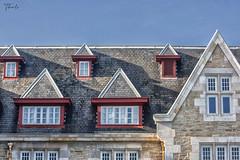 Windows (therlo28) Tags: windows ventanas finestre arquitectura palacio tejado roof cristal vidrio ladrillo santander cantabria red rojo