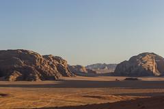 Sunset from Lawrence's House (Tim&Elisa) Tags: jordan sunset sky mountains canon sand rocks desert dunes wadirum unesco mo redrocks geology middeleast colorful unescoworldheritagesite
