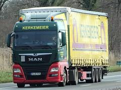 MAN TGX from Kerkemeier Germany. (capelleaandenijssel) Tags: engk9094 truck trailer lorry camion lkw