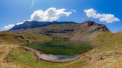 Ibon de los Asnos (gercade) Tags: lago lake moutains montaña reflejo cielo sky panticosa huesca