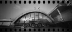 2644 Underside. (Monobod 1) Tags: ondu 135 panoramic ilford fp4 kodak hc110 pinhole lensless epsonv800