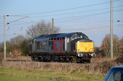 37800 aa Marholm 020219 D Wetherall (MrDeltic15) Tags: eastcoastmainline railoperationsgroup class37 37800 marholm ecml
