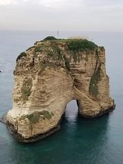 Raouche Rocks (Levana Una Laitman) Tags: beirut lebanon