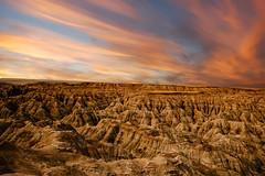 Badlands South Dakota   10 (Largeguy1) Tags: approved sunset badlands landscape canon 5d mark iii