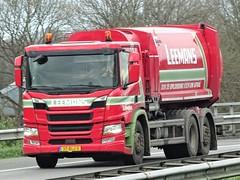 Scania P-series Nextgen public waste collect truck from Leemans Vriezenveen Holland. (capelleaandenijssel) Tags: 37blj3 truck trailer lorry camion lkw netherlands nl rigid