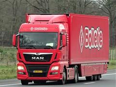 MAN TGX from Bolletje Holland. (capelleaandenijssel) Tags: 68bks8 truck trailer lorry camion lkw netherlands nl