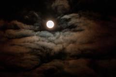 Moon in clouds (markusgeisse) Tags: mond vollmond moon night nacht wolken clouds sky himmel