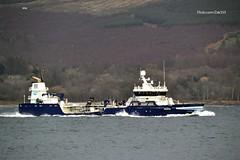 Ronja Fisk (Zak355) Tags: rothesay isleofbute bute scotland scottish vessel ship boat ronjafisk riverclyde fishfarmvessel
