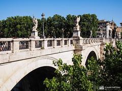 190705-169 Pont sur le Tibre (2019 Trip) (clamato39) Tags: pont bridge olympus rome italie italy europe voyage trip ville city urban urbain