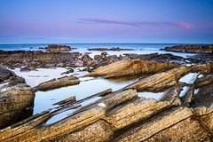 First Light at Hopeman (Stoates-Findhorn) Tags: 2020 coast dawn firth hopeman rockpool rocks sand scotland sea moray twilight stoates steveoates olympus