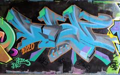Graffiti in Amsterdam (wojofoto) Tags: amsterdam nederland netherland holland flevopark amsterdamsebrug hof halloffame graffiti streetart wojofoto wolfgangjosten