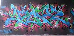 Graffiti in Amsterdam (wojofoto) Tags: amsterdam nederland netherland holland flevopark amsterdamsebrug hof halloffame graffiti streetart wojofoto wolfgangjosten mopz