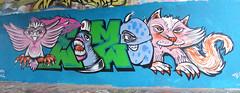 Graffiti in Amsterdam (wojofoto) Tags: amsterdam nederland netherland holland flevopark amsterdamsebrug hof halloffame graffiti streetart wojofoto wolfgangjosten teizer