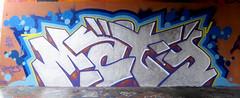 Graffiti in Amsterdam (wojofoto) Tags: amsterdam nederland netherland holland flevopark amsterdamsebrug hof halloffame graffiti streetart wojofoto wolfgangjosten maty