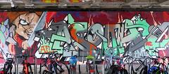 Graffiti in Amsterdam (wojofoto) Tags: amsterdam nederland netherland holland flevopark amsterdamsebrug hof halloffame graffiti streetart wojofoto wolfgangjosten asoh asooh