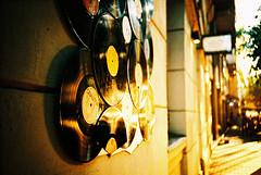 Gold records (Stephen Dowling) Tags: 35mm film xpro kodakebx100 hungary budapest travel lomography lomolca