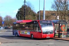 Go North East 9084 / YJ64 DZM (TEN6083) Tags: gateshead winlaton winlatonbusstation v1170 versa optare yj64dzm 9084 gonortheast publictransport transport nebuses buses bus
