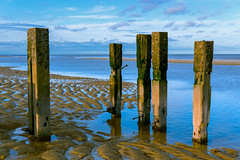 Remnants.. (Colin-47) Tags: remnants revetments woodenposts sea seashore sand beach sky coastal colin47 interesting nikond810 tamronaf2875f28ifmacro 2020 nature manmade