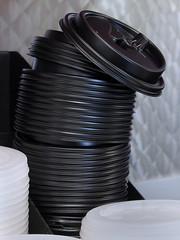 Single Use (arbyreed) Tags: arbyreed plastic plasticlids singleuselids singleuseplastic coffeecuplids drinklids pollution plasticpollution enviroment envoronmentaldamage plasticintheenviroment